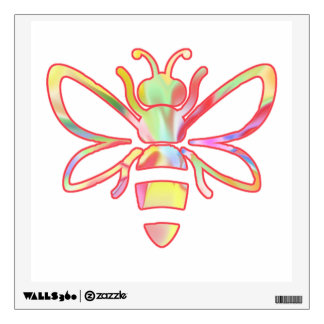 Sunshine Fairies Honey Bee Wall Decal