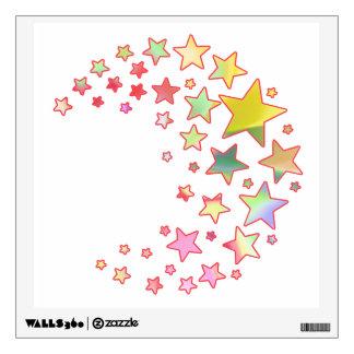 Sunshine Fairies Spiral of Stars Wall Sticker