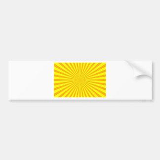 Sunshine Fash Bumper Sticker