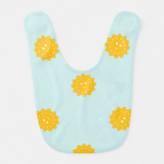 Sunshine Fleece Baby Bib