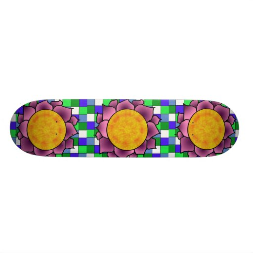 Sunshine Flower Board Custom Skateboard