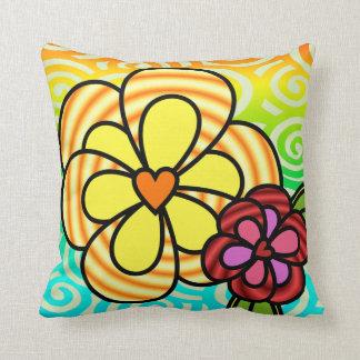 Sunshine Flower Pillow