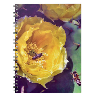 Sunshine, Flowers and Bees. Nature-Themed. Notebook