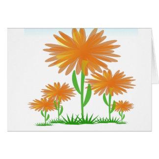 Sunshine Flowers card