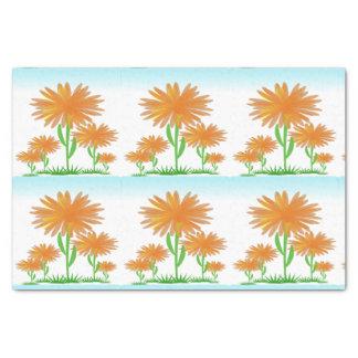 Sunshine Flowers tissue paper