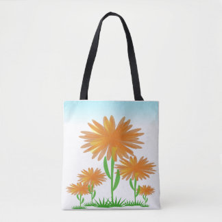 Sunshine Flowers Tote Bag