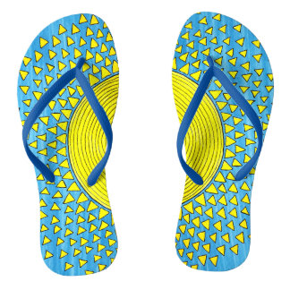 Sunshine for your feet flip flops