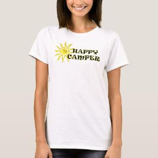 Sunshine Happy Camper Ladies Shirt