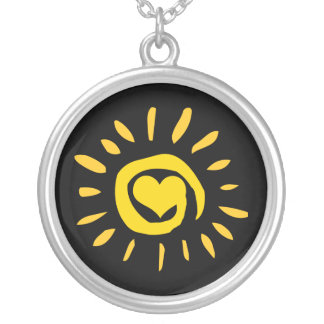 Sunshine Heart Necklace