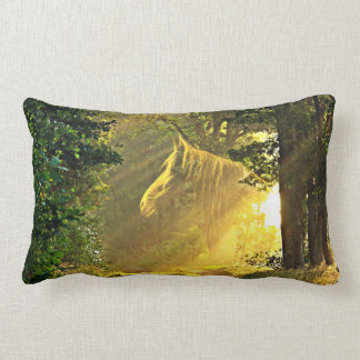 Sunshine horse lumbar pillow