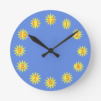 Sunshine Hours Clock