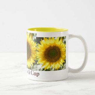 """""""Sunshine In A Cup"""" mug"""