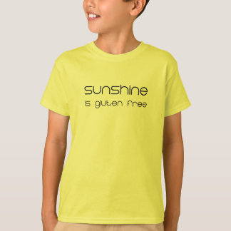 Sunshine is Gluten Free T-Shirt
