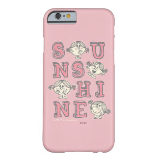 Sunshine Letters Barely There iPhone 6 Case