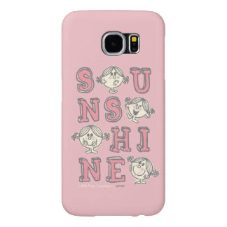 Sunshine Letters Samsung Galaxy S6 Cases