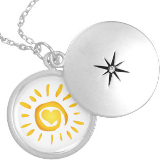 Sunshine Love Silver Plated Necklace