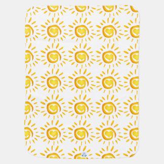 Sunshine Love Swaddle Blankets