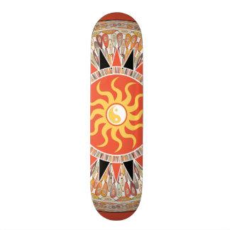 Sunshine mandala skate board decks