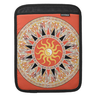 Sunshine mandala sleeve for iPads
