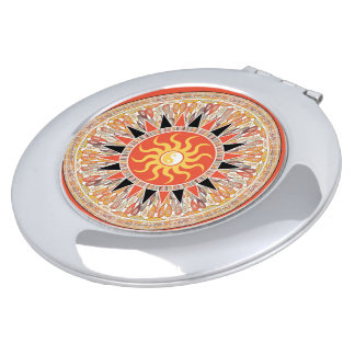 Sunshine mandala travel mirror