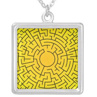 Sunshine Maze Necklace
