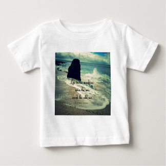 Sunshine ocean sea quote baby T-Shirt