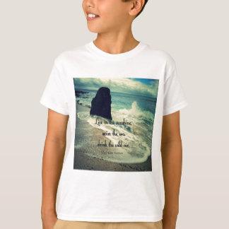 Sunshine ocean sea quote T-Shirt
