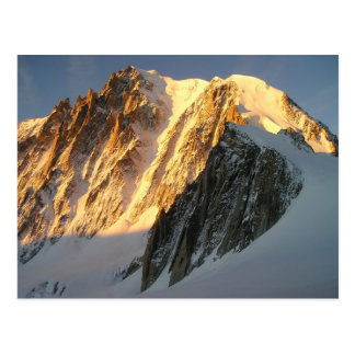 Sunshine on Mount Blanc Postcard