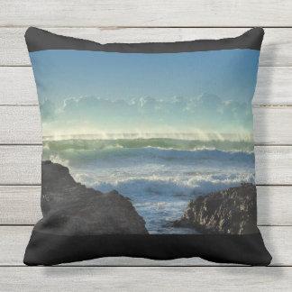 Sunshine on the Beach Outdoor Pillow