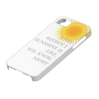 SUNSHINE PHONE CASE iPhone 5 COVERS