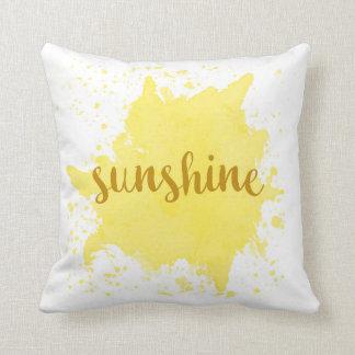 Sunshine Pillow
