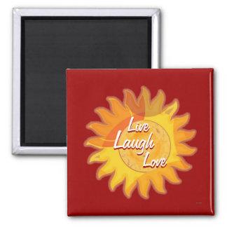 Sunshine Red Magnet