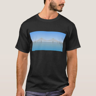 Sunshine Skyway Bridge: Tampa Bay: T-Shirt