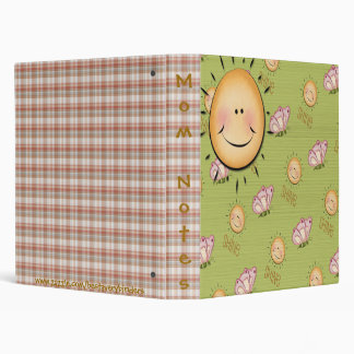 Sunshine Smiles & Butterflies Notebook Binder