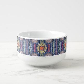 sunshine stripes soup mug