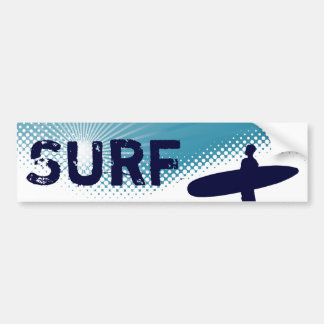 sunshine surf bumper sticker