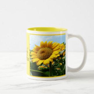 Sunshine Two-Tone Coffee Mug