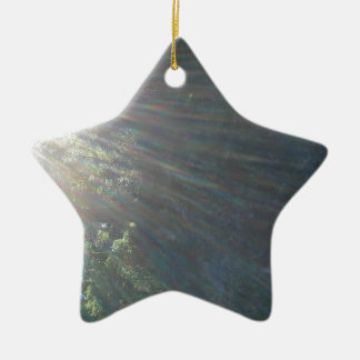 Sunshine water ceramic star ornament