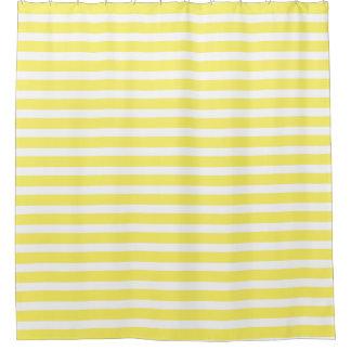 Sunshine Yellow And White Striped