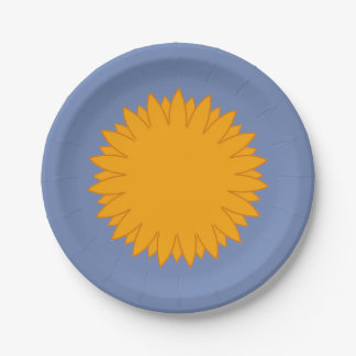 Sunshiney Day Paper Plate