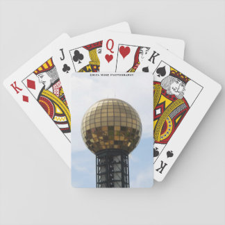 Sunsphere in Knoxville Playing Cards