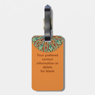 Sunstar Medallion Luggage Tag
