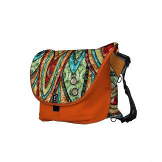 Sunstar Medallion Messenger Bags