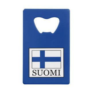 Suomi Credit Card Bottle Opener