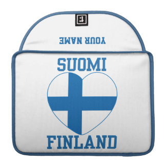 SUOMI FINLAND custom MacBook sleeve