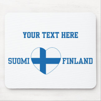SUOMI FINLAND custom mousepad