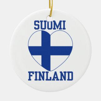 SUOMI FINLAND custom ornament