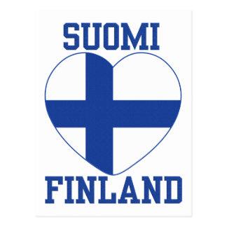 SUOMI FINLAND custom postcard