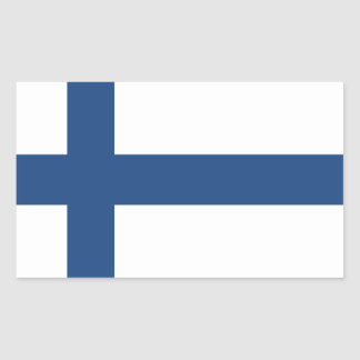 SUOMI FINLAND FLAG STICKER