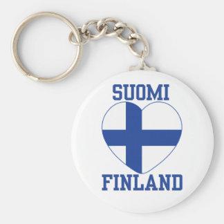 SUOMI FINLAND key chain
